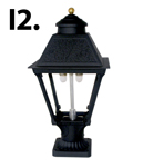 HK1A Lamp on Pedestal Mount